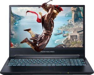 Dream Machines RG2060-15PL40 8 GB RAM/ 256 GB M.2 PCIe/ 480 GB SSD/ Windows 10 Pro