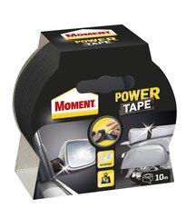 MOMENT Power Tape 10 m melna līmlente cena un informācija | Izolācijas materiāli | 220.lv