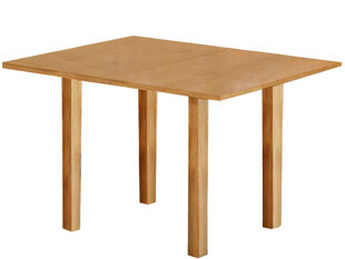 Paplašināms galds Notio Living Austin, gaiša ozola krāsas cena un informācija | Virtuves galdi, ēdamgaldi | 220.lv