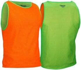 T-krekls futbola treniņam Avento 75OG, zaļš/oranžs