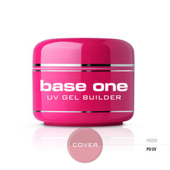 Bāzes gels nagiem Silcare Base One 30 g, Cover cena un informācija | Bāzes gels nagiem Silcare Base One 30 g, Cover | 220.lv