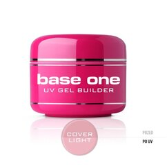 Bāzes gels nagiem Silcare Base One 30 g, Cover Light cena un informācija | Bāzes gels nagiem Silcare Base One 30 g, Cover Light | 220.lv