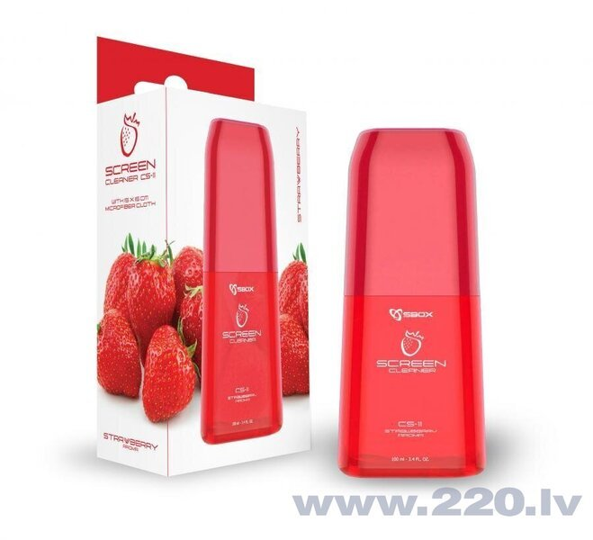 Sbox Screen Cleaner Strawberry Aroma CS-11 cena