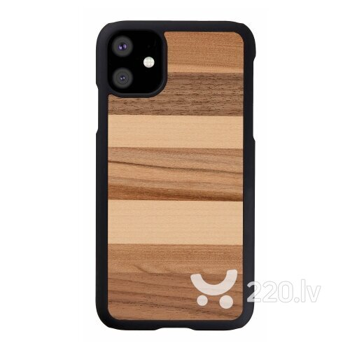 MAN&WOOD SmartPhone case iPhone 11 sabbia black