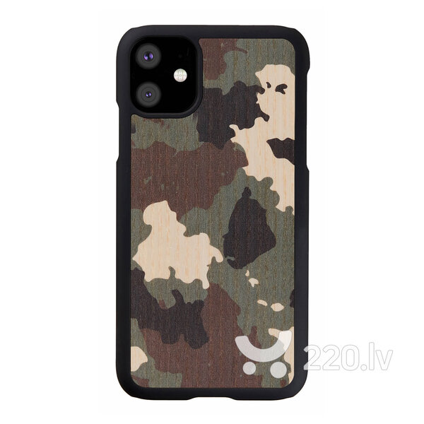 MAN&WOOD SmartPhone case iPhone 11 camouflage black