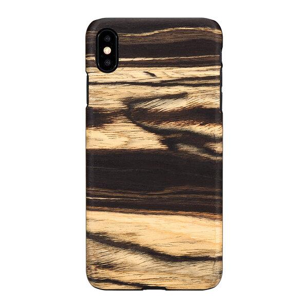 MAN&WOOD SmartPhone case iPhone XS Max white ebony black