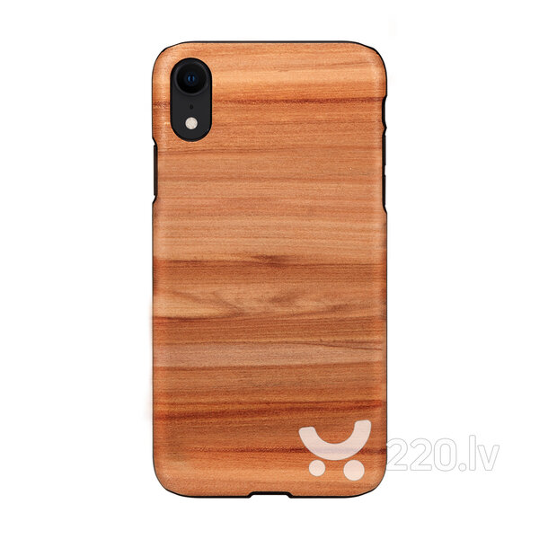 MAN&WOOD SmartPhone case iPhone XR cappuccino white
