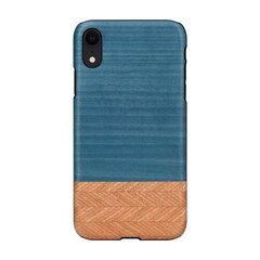 MAN&WOOD SmartPhone case iPhone XR denim black