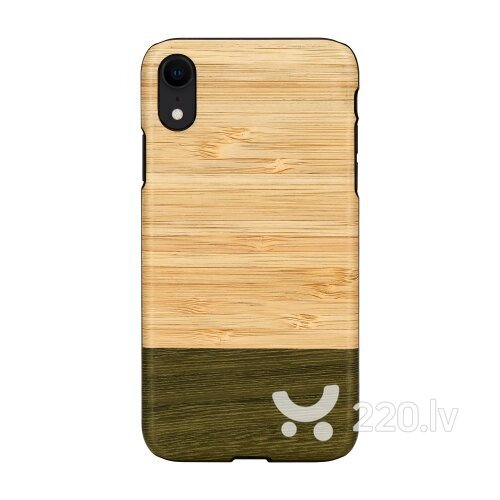 MAN&WOOD SmartPhone case iPhone XR bamboo forest black