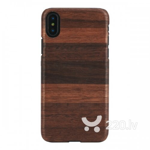 MAN&WOOD SmartPhone case iPhone X/XS fango black