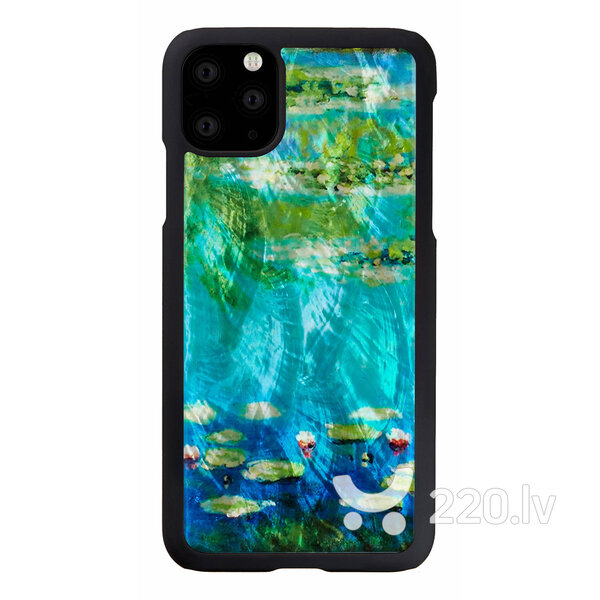 iKins SmartPhone case iPhone 11 Pro Max water lilies black