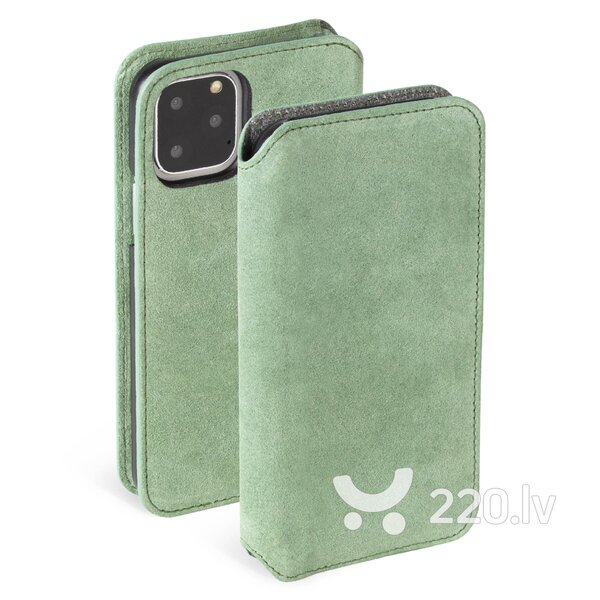 Krusell Broby PhoneWallet Apple iPhone 11 Pro Max olive