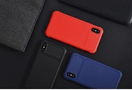 Devia Shark1 Shockproof Case iPhone XS (5.8) black internetā