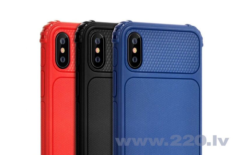 Devia Shark1 Shockproof Case iPhone XS Max (6.5) blue