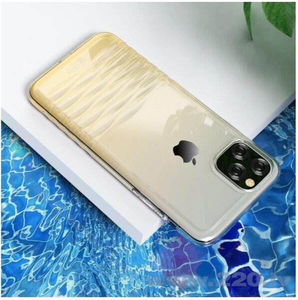 Devia Ocean series case iPhone 11 Pro gradual gold internetā
