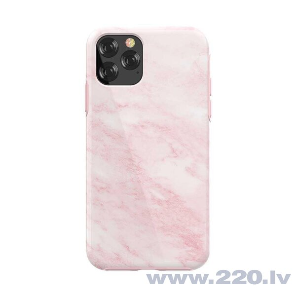 Devia Marble series case iPhone 11 Pro pink