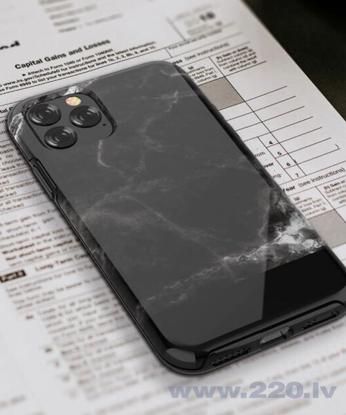 Devia Marble series case iPhone 11 Pro Max black cena