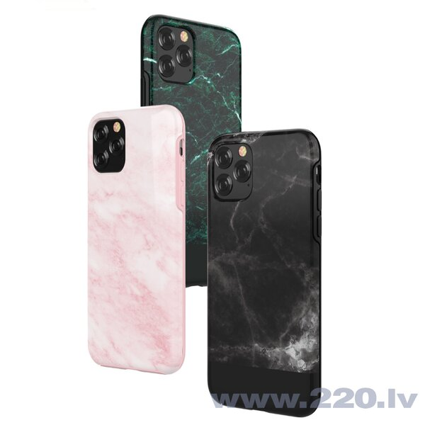 Devia Marble series case iPhone 11 Pro Max black internetā