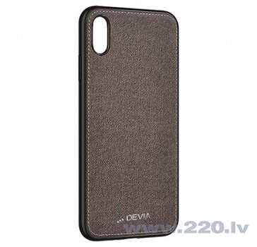 Devia Nature series case iPhone XR (6.1) gray