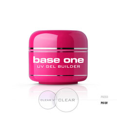 Bāzes gels nagiem Silcare Base One 5 g, Clear cena un informācija | Bāzes gels nagiem Silcare Base One 5 g, Clear | 220.lv