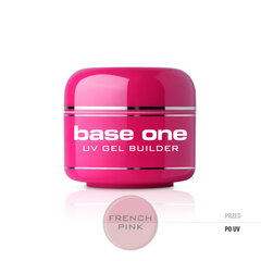 Bāzes gels nagiem Silcare Base One 5 g, French Pink cena un informācija | Bāzes gels nagiem Silcare Base One 5 g, French Pink | 220.lv