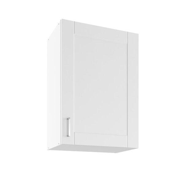 Sienas skapītis Lupus Milano 1D 50 cm, balts
