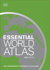 Essential World Atlas : The comprehensive companion to our planet