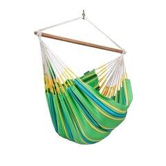 Šūpuļtīkls La Siesta Currambera Chair, zaļš cena un informācija | Šūpuļtīkli | 220.lv