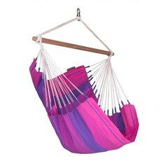 Šūpuļtīkls La Siesta Orquidea Chair, violets cena un informācija | Šūpuļtīkli | 220.lv