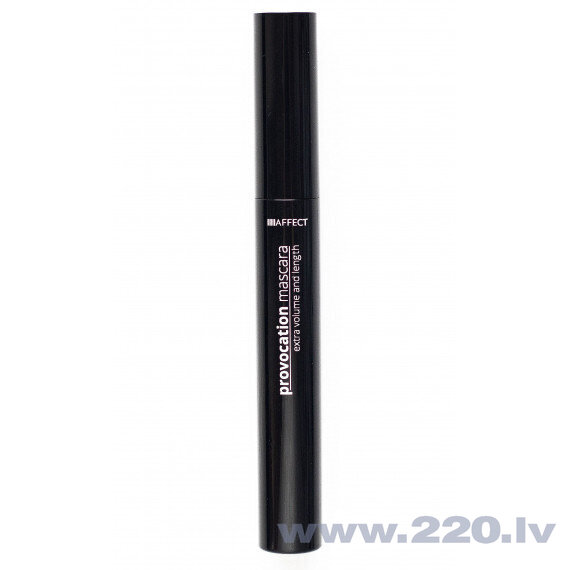 Skropstu tuša Affect Provocation Extra Volume & Length 12 ml, Black