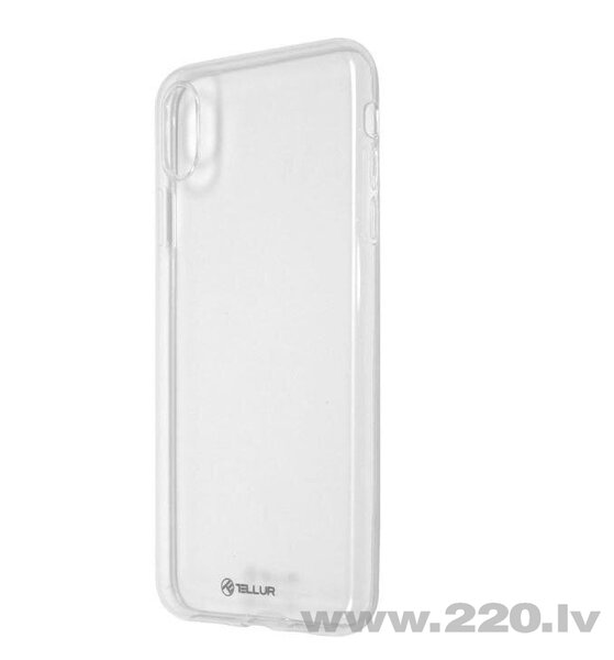 Tellur Cover Silicone for iPhone XS MAX transparent cena