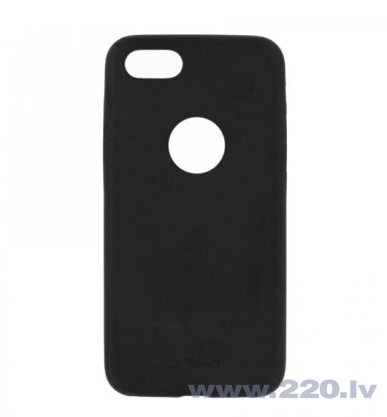 Tellur Cover Slim Synthetic Leather for iPhone 8 black