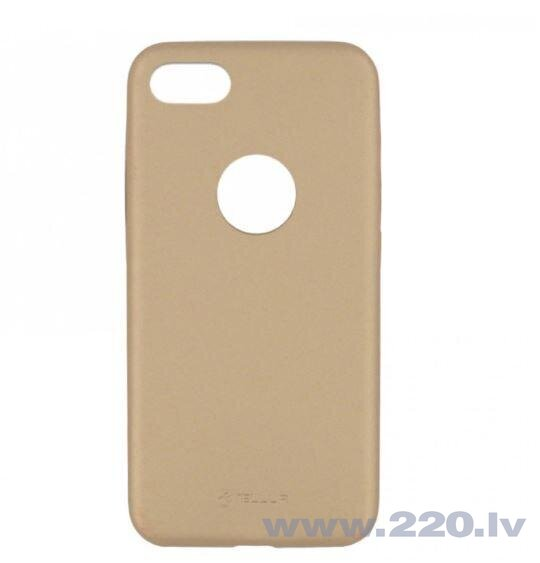 Tellur Cover Slim Synthetic Leather for iPhone 8 gold