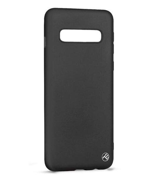 Tellur Cover Matte Silicone for Samsung Galaxy S10 Plus black