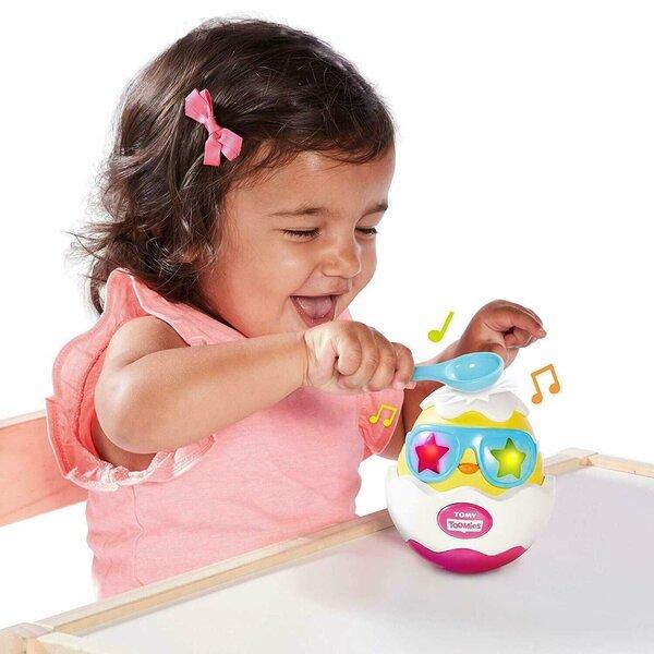 Muzikāla rotaļlieta ar gaismām Ola Tomy Tommies, E72816C