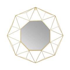 Dekoratīvs spogulis Uppsala, zelta krāsas