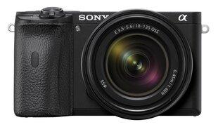 Sony A6600 + 18-135mm OSS (Black) cena un informācija | Digitālās fotokameras | 220.lv