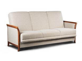 Dīvāns TMS Fenix, smilšu/brūnas krāsas cena un informācija | Dīvāni | 220.lv