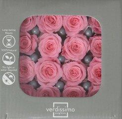 Stabilizētas Princess rozes 16 gab., rozā цена и информация | Подарки, праздничная атрибутика | 220.lv