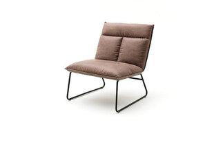 Krēsls Zenica, vintage brown cena un informācija | Atpūtas krēsli | 220.lv
