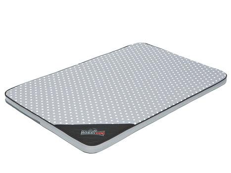 Hobbydog matracis M, 80x54 cm, pelēks cena un informācija | Gultas, spilveni un būdas | 220.lv