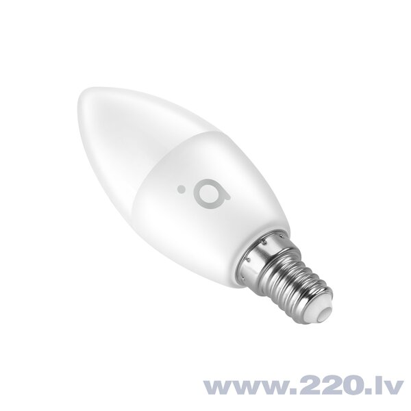 Acme SH4208 spuldze Smart Wifi LED Bulb Candle, 4.5W, WW/CW/RGB