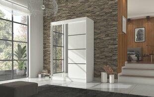 Skapis Adrk Furniture Gilton 150 cm, balts cena un informācija | Skapji | 220.lv