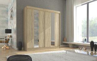 Skapis Adrk Furniture Balton 200 cm, ozola krāsas cena un informācija | Skapji | 220.lv