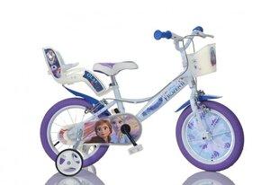 "Meiteņu velosipēds Dino Bikes Ledus Sirds (Frozen) 16"", 164R-FZ3"