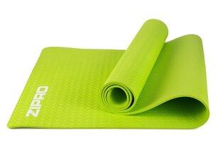 Sporta paklājs Zipro TPE 183x61x0,6 cm, zaļš cena un informācija | Vingrošanas paklāji | 220.lv