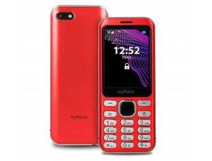 MyPhone Maestro, 64 MB, Dual SIM, Sarkans cena un informācija | MyPhone Maestro, 64 MB, Dual SIM, Sarkans | 220.lv