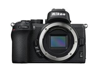 Nikon Z50 Body, Melns cena un informācija   Nikon Z50 Body, Melns   220.lv