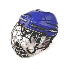 Bauer 9900 Hokeja Ķivere, Combo, Zila/Pelēka cena un informācija | Hokejs | 220.lv