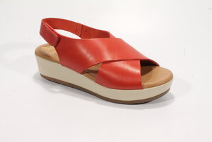 PRESSO ādas sandales cena un informācija | Sieviešu sandales | 220.lv